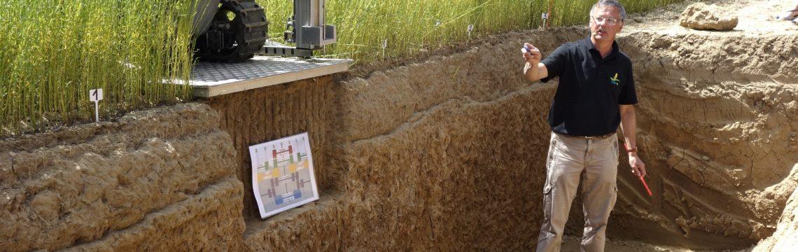 Vergleich von Bodenprofilen