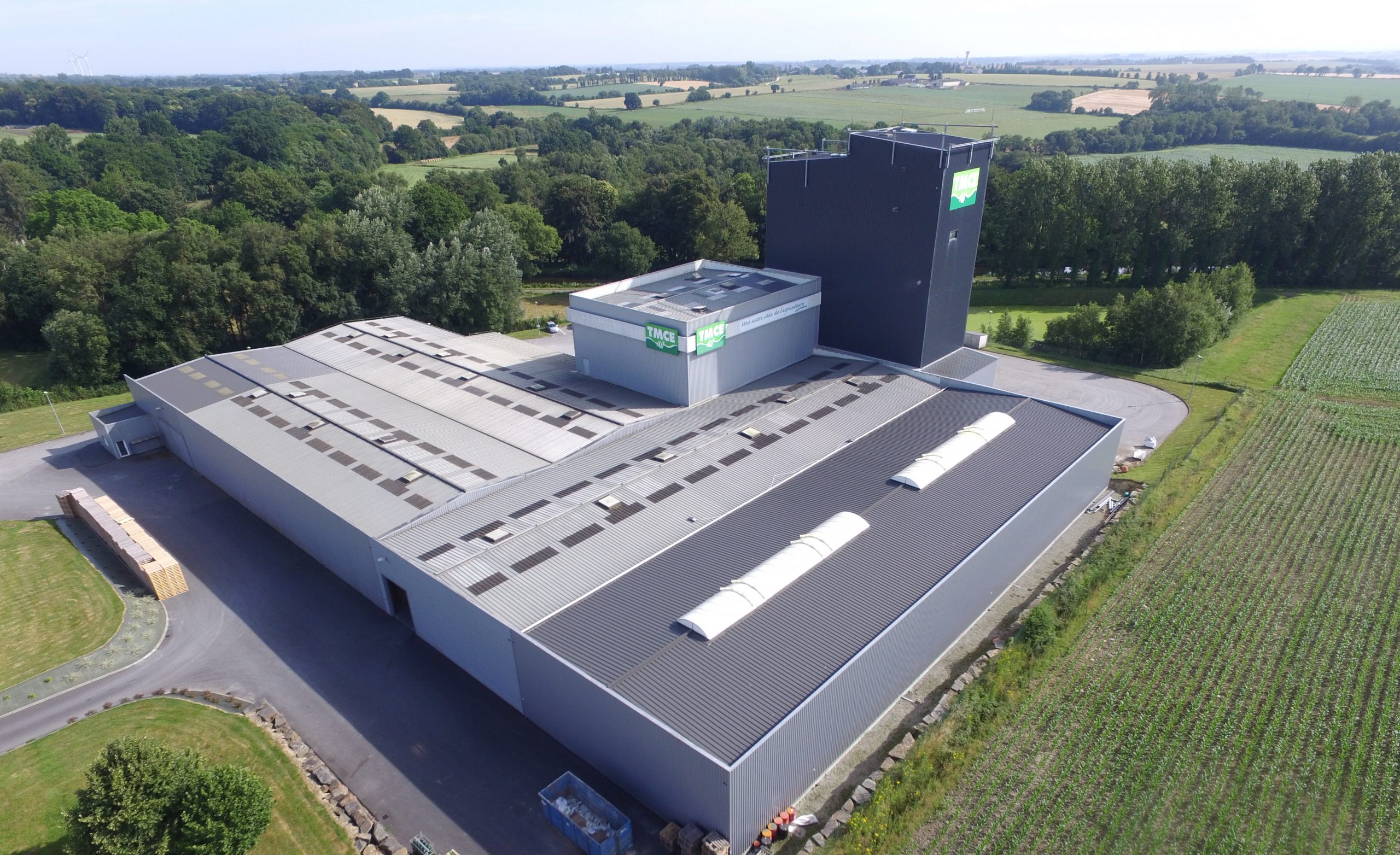 TMCE manufactures its products in its plant in Brittany.