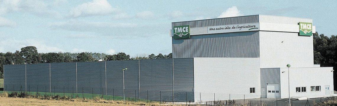 Die neue Hauptverwaltung von TMCE in Saint-Gonnery, Morbihan