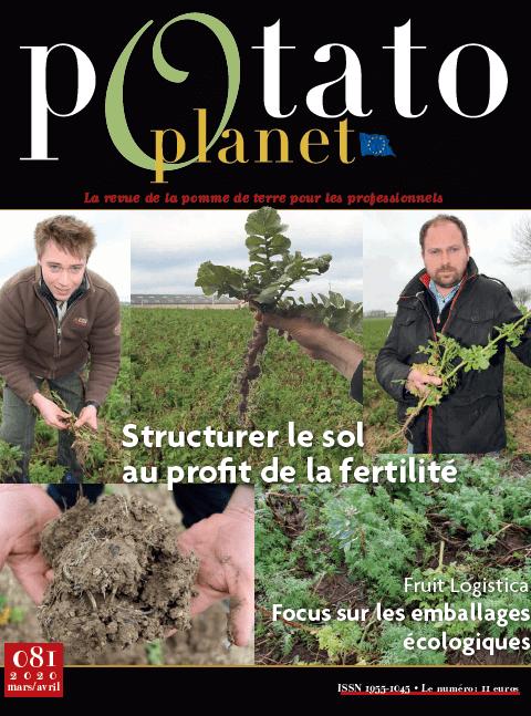 Couverture Potato Planet 81